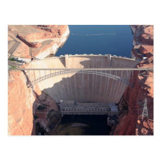 Glen Canyon Dam and Bridge, Arizona Postcard
