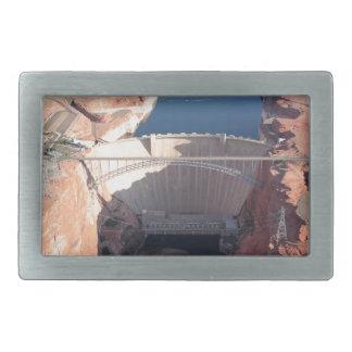 Glen Canyon Dam and Bridge, Arizona Rectangular Belt Buckle