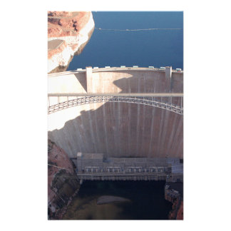Glen Canyon Dam and Bridge, Arizona Stationery