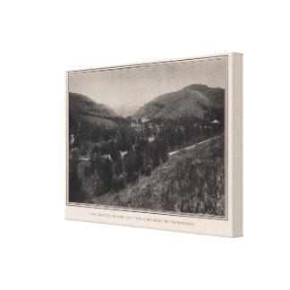 Glen Canyon, Twin Peaks, San Francisco Canvas Print