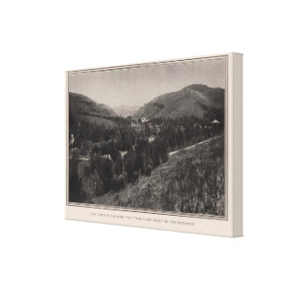 Glen Canyon, Twin Peaks, San Francisco Gallery Wrap Canvas
