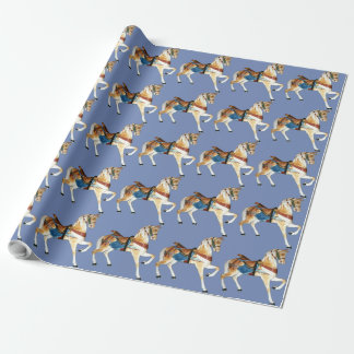 Glen Echo Stander 5a - blue Wrapping Paper