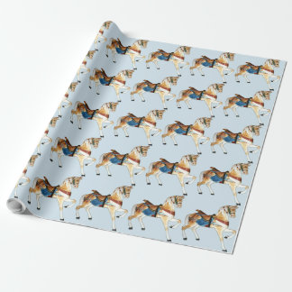 Glen Echo Stander 5a - lt blue Wrapping Paper