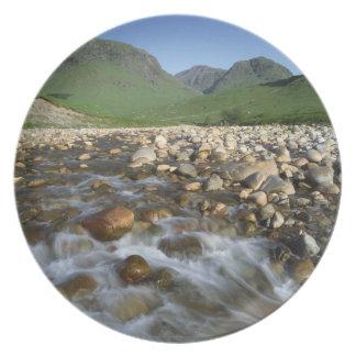 Glen Etive, Highlands, Scotland 2 Party Plates
