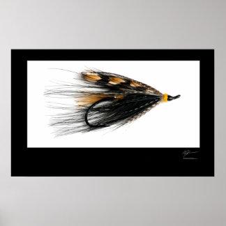 Glen Grant Salmon Fly Poster