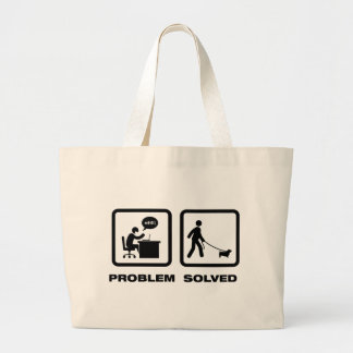Glen of Imaal Terrier Tote Bags