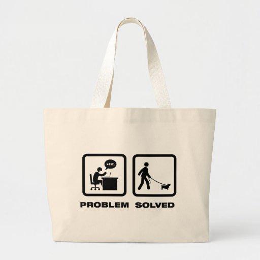 Glen of Imaal Terrier Tote Bags