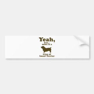 Glen of Imaal Terrier Bumper Sticker