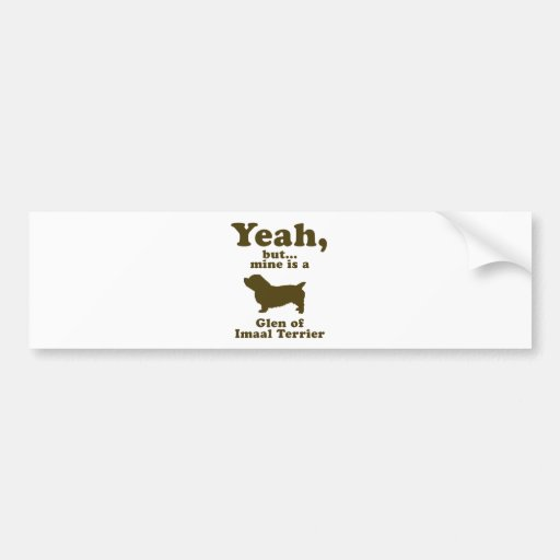 Glen of Imaal Terrier Bumper Sticker