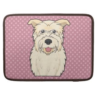 Glen of Imaal Terrier Cartoon MacBook Pro Sleeve
