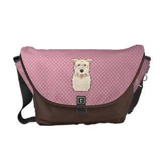 Glen of Imaal Terrier Cartoon Messenger Bag