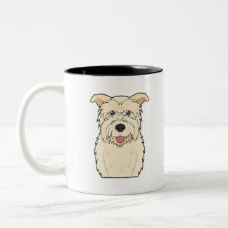 Glen of Imaal Terrier Cartoon Coffee Mugs