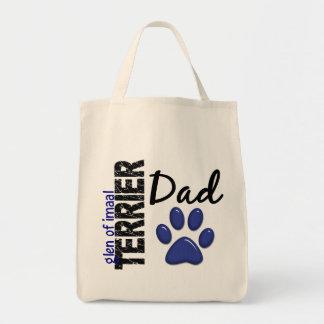 Glen Of Imaal Terrier Dad 2 Canvas Bags