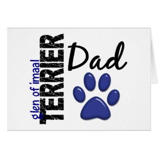 Glen Of Imaal Terrier Dad 2 Greeting Card