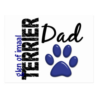 Glen Of Imaal Terrier Dad 2 Postcard