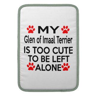 Glen of Imaal Terrier Designs MacBook Sleeve