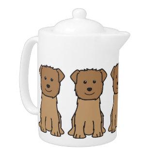 Glen of Imaal Terrier Dog Cartoon