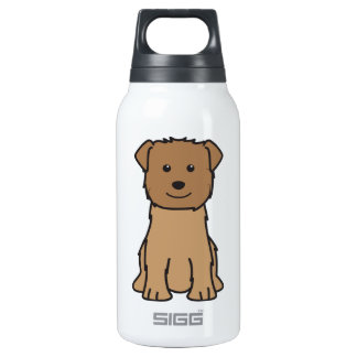 Glen of Imaal Terrier Dog Cartoon 0.3L Insulated SIGG Thermos Water Bottle