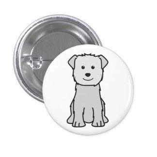 Glen of Imaal Terrier Dog Cartoon Pinback Buttons
