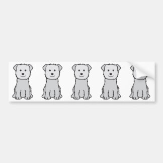 Glen of Imaal Terrier Dog Cartoon Bumper Sticker