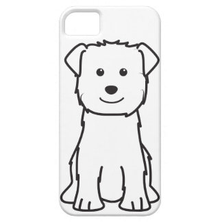 Glen of Imaal Terrier Dog Cartoon iPhone 5 Cases