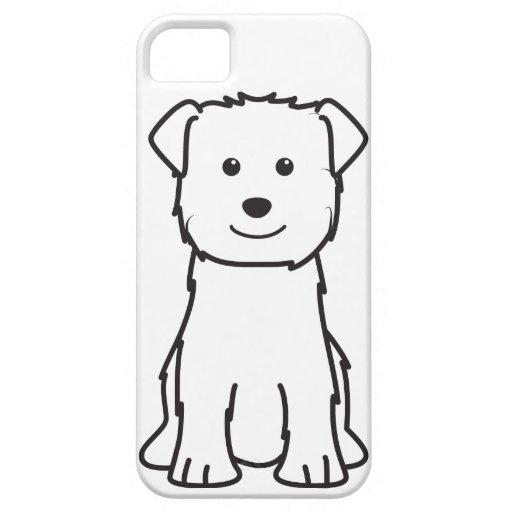 Glen of Imaal Terrier Dog Cartoon iPhone 5 Cases