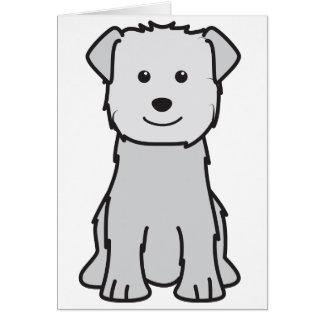 Glen of Imaal Terrier Dog Cartoon Greeting Card