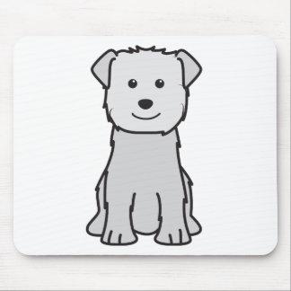 Glen of Imaal Terrier Dog Cartoon Mouse Pad