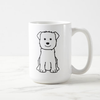 Glen of Imaal Terrier Dog Cartoon Mug