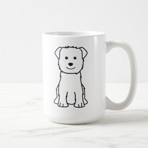 Glen of Imaal Terrier Dog Cartoon Mug