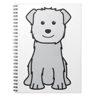 Glen of Imaal Terrier Dog Cartoon Journal