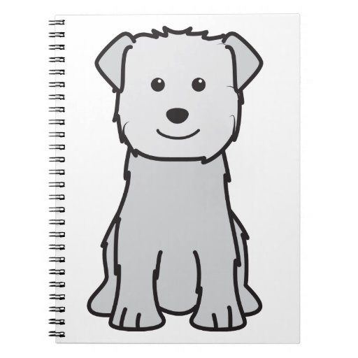 Glen of Imaal Terrier Dog Cartoon Journal