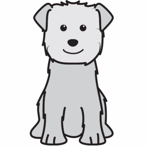 Glen of Imaal Terrier Dog Cartoon Acrylic Cut Out