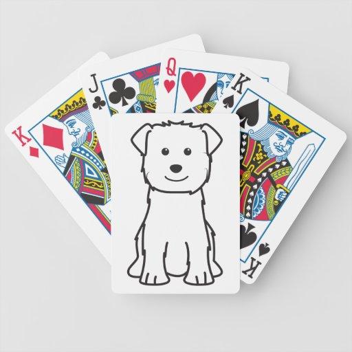 Glen of Imaal Terrier Dog Cartoon Bicycle Poker Deck