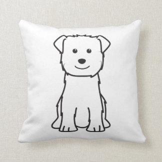 Glen of Imaal Terrier Dog Cartoon Throw Cushions