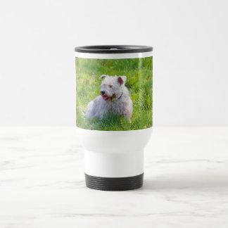 Glen of Imaal Terrier dog commuter mug, gift idea Stainless Steel Travel Mug