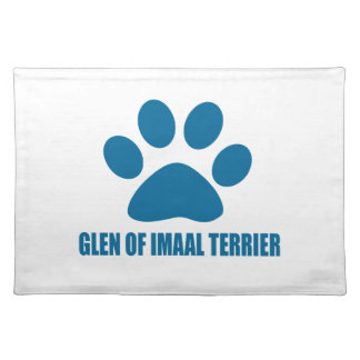 GLEN OF IMAAL TERRIER DOG DESIGNS PLACEMAT