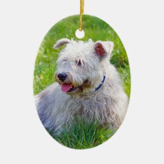 Glen of Imaal Terrier dog hanging ornament