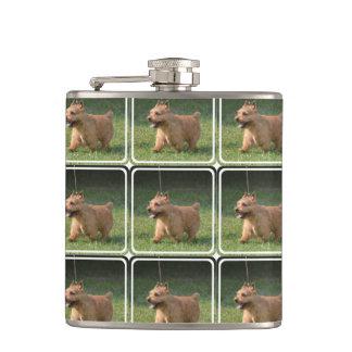 Glen of Imaal Terrier Hip Flask