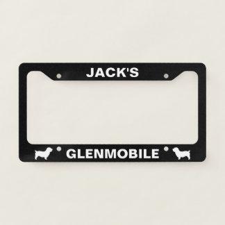 Glen of Imaal Terrier Glenmobile Custom Licence Plate Frame