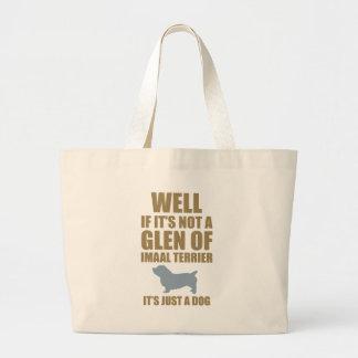 Glen of Imaal Terrier Large Tote Bag