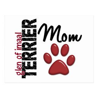 Glen Of Imaal Terrier Mom 2 Postcard