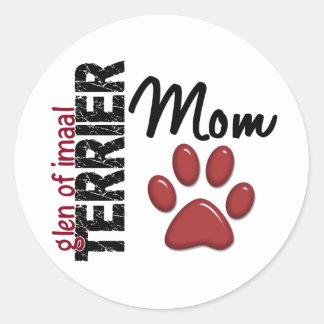 Glen Of Imaal Terrier Mom 2 Sticker