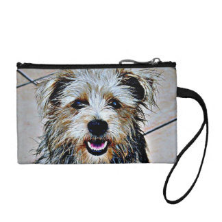 Glen of Imaal Terrier Pop Art Coin Purses