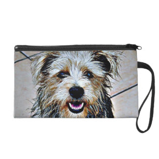 Glen of Imaal Terrier Pop Art Wristlet