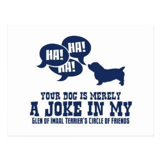 Glen of Imaal Terrier Postcard