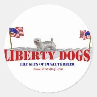 Glen of Imaal Terrier Round Sticker