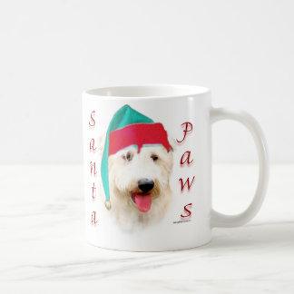 Glen of Imaal Terrier Santa Paws Coffee Mug