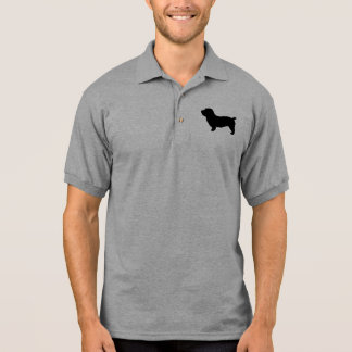 Glen of Imaal Terrier Silhouette Polo T-shirts