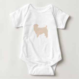 glen of imaal terrier silo wheaten baby bodysuit
